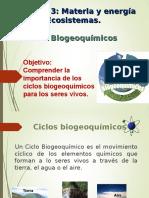 CLASE Ciclos Biogeoquímicos
