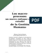 2. Los Macroprocesos. Un Nuevo Enfoque en El Estudio de La GEstión Humana