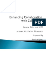 Collaboration With Zoho 1