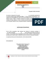 Modelo 04_certificado Psicológico