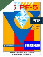 Cuadernillo 16pf 5