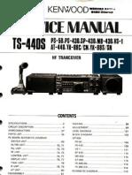 TS-440S Service Manual