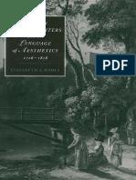 (Cambridge Studies in Romanticism) Elizabeth a. Bohls - Women Travel Writers and the Language of Aesthetics, 1716-1818-Cambridge University Press (1995)