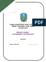 KISI-KISI Deskripsi Teknis LKS WILKER 3 JATIM 2019 NOP- Automobile Technology.pdf