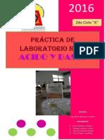 Laboratorio de Quimica n01 II a Copia