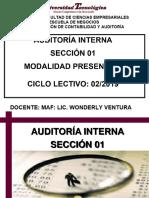 Propósito y Alcance de La Auditoría Interna