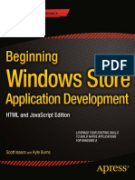 Beginning Windows Store Application Development HTML and JavaScript Edition (Sep 2013)