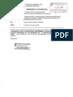 directiva para el control de legajos