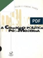 A CONDIÇÃO POLÍTICA NA PÓS MODERNIDADE
