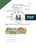 2° basico Evaluacion-Puntos-Cardinales-
