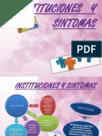 Diapositvas Instituciones y Sintomas