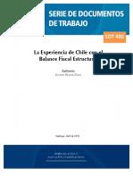 Balance Fiscal e Structural g 7