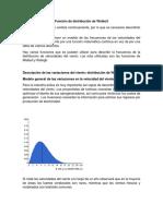 Función de Distribución de Weibull