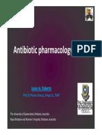 pharmakologikal antibiotik