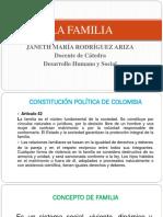 Presentación La Familia 2019