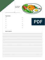 Worksheet Friedrice