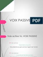 1- Voix Passive Théorie 1.2