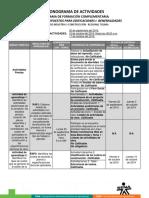 Cronograma de Actividades_Generalidades