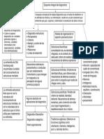 Mapa Esquema integral del diagnostico
