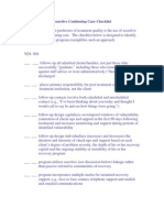 Assertive Continuing Care Checklist