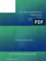 Estudio Económico y Financieroo