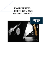 Engineering Metrology and Measurements Notes