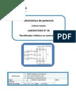 Lab06 - Rectificador Trifasico No Controlado-1