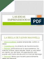 Unidad 2 Las Ideas Emprendedoras