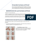 1. Pausa Activa