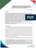 Preferências musicais dos estudantes do Curso Técnico em Instrumento Musical do IFPB/JP (parte II)
