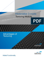 Materialise 3-Matic Texturing