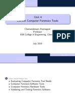 Current Computer Forensics Tools