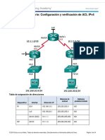 7.2.2.6 - Lab - Configuring and Modifying Standard IPv4 ACLs