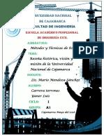 UNIVERSIDAD NACIONAL DE CAJAMRCA