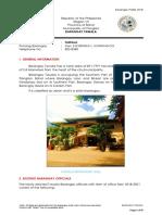 Barangay Tawala Profile 2018
