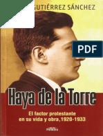 Haya de La El Factor Protestante Torre
