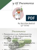 Etiology of Pneumonia