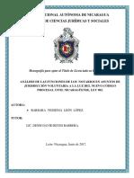 Funciones Del Notario en Asuntos de Jurisdicción Voluntaria en El CPCN