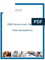 NSW Government Flash Accessibility v1