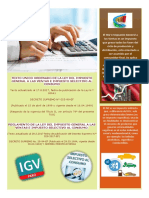 Texto Unico Ordenado de La Ley Del Impuesto General a Las Ventas e Impuesto Selectivo Al Consumo