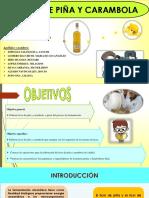 Licor de Carambola y Piña Completo 1