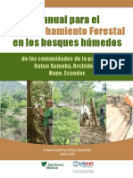 manuañ de aprovechamuento forestal