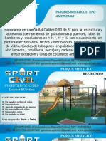 Catalogo Parque Infantil Metalico