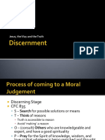 Process of Discernment