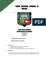 Lipidos informe UNALM