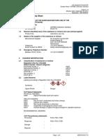 00.02.710 MSDS UOP868 Calibration Standard