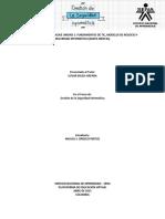 FUNDAMENTOS DE TIC, MODELOS DE NEGOCIO Y  SEGURIDAD INFORMÁTICA (MAPA MENTAL)