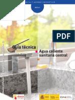 Guía técnica de agua caliente sanitaria central