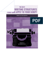 The Best Screenwriting Structures You Can Apply to Your Scripts