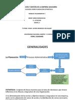 Presentación PLANEACION ESTRATEGICA